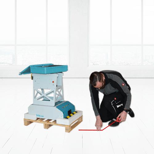 Reitin määrittely lattiateipillä