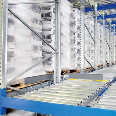 Pallet live storage racking - Pallet racking systems