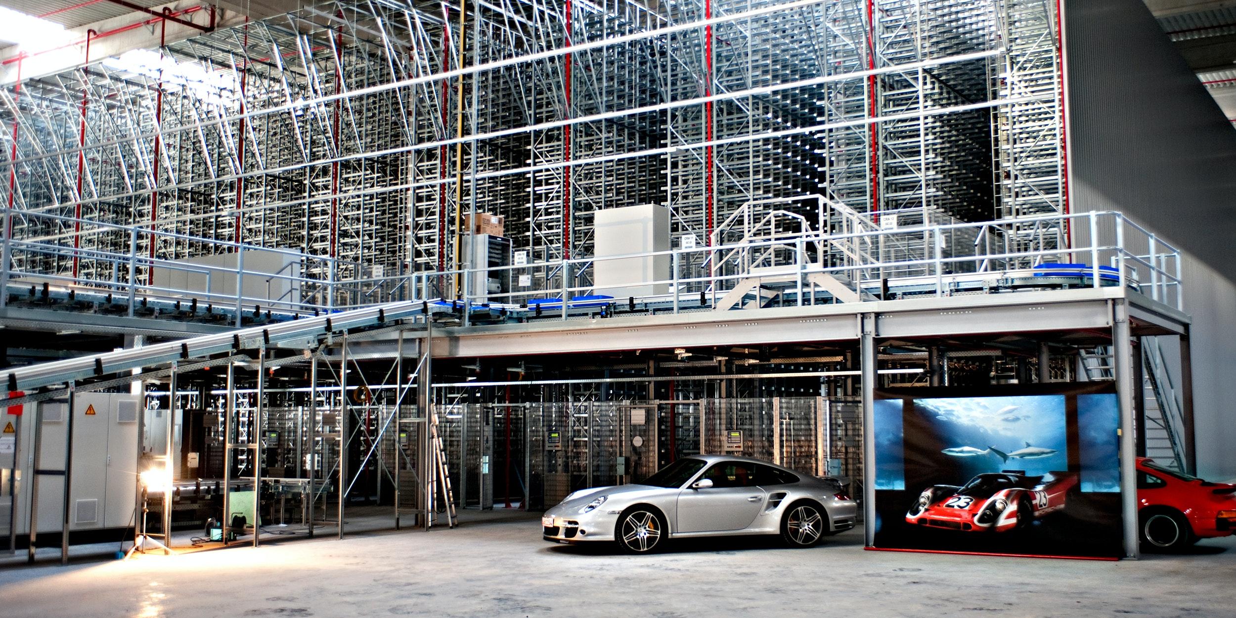 Organization of a highly complex car spare parts logistics | Logistics